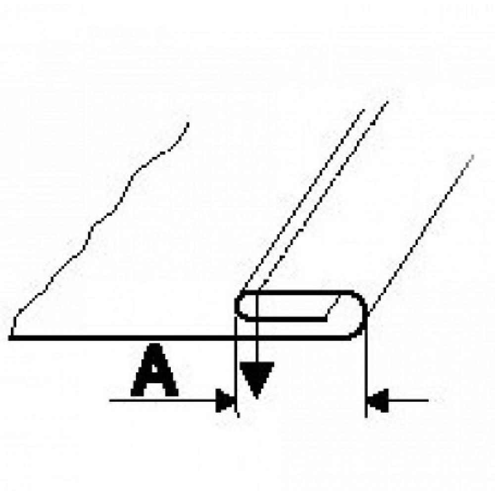 Лапка рубильник для подгибки на 3,2 мм