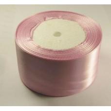 Атласная лента цвет светло-сиреневый, 50 мм