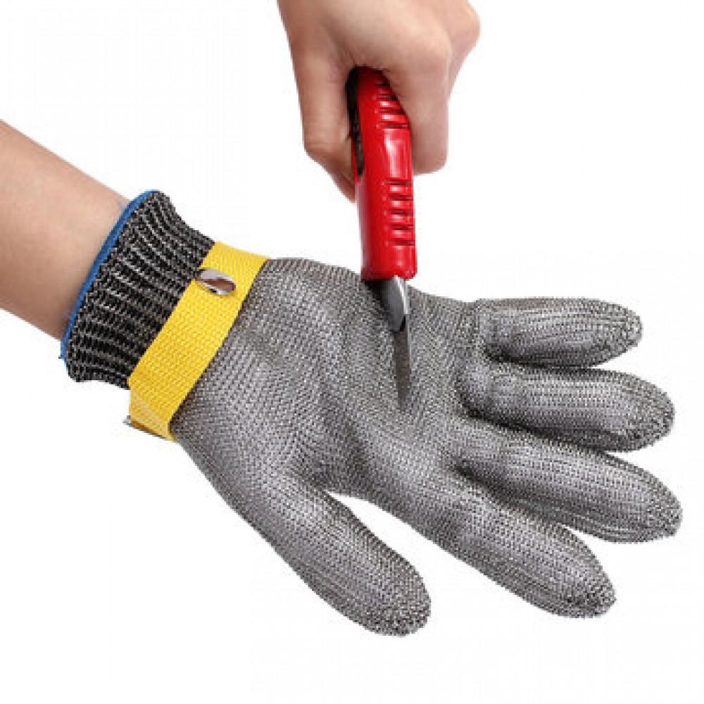 Защитная перчатка металлическая
