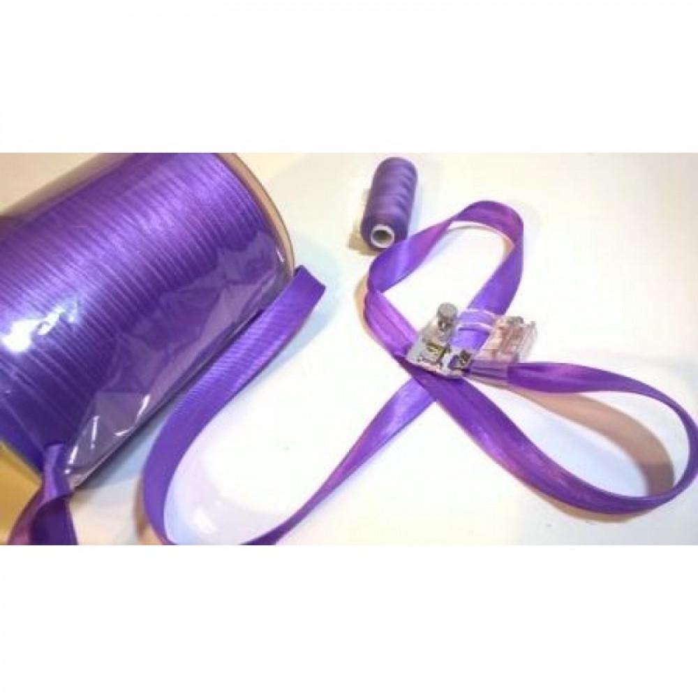 Косая бейка светло-фиолетовая № 237