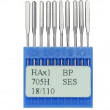 Бытовые швейные иглы Dotec HAx1, BP SES 705H 18/110 10 шт.