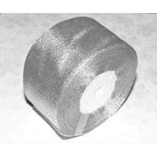 Лента из парчи цвет серебряный, 50 мм