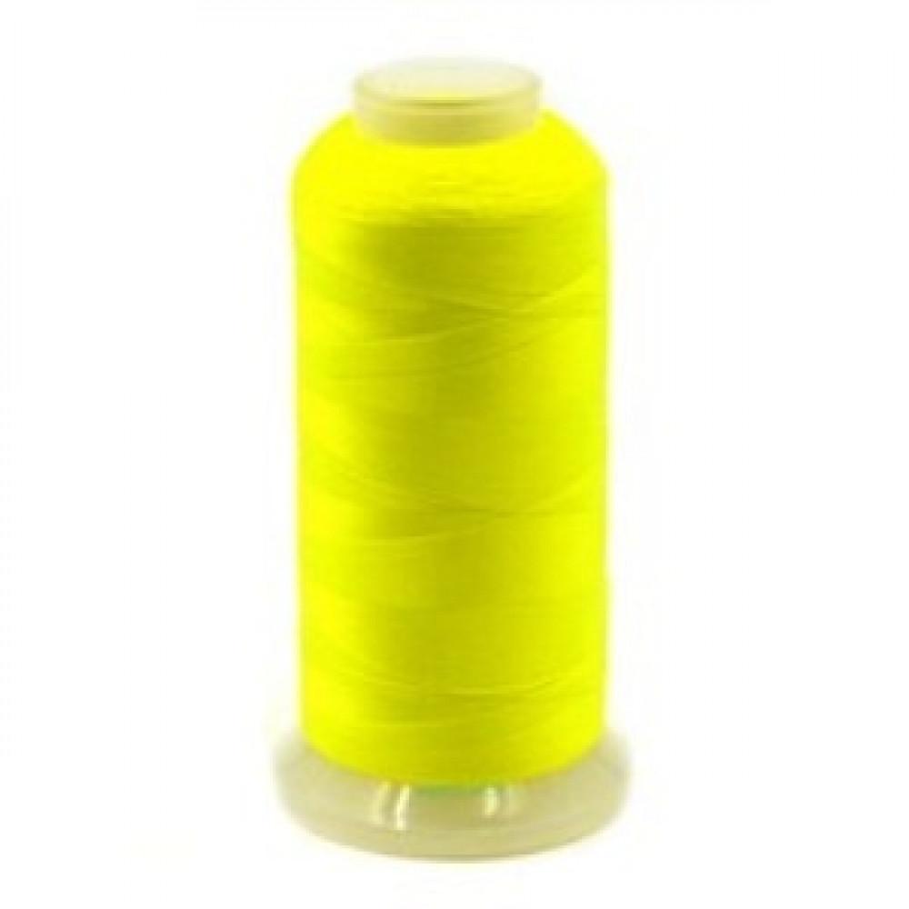 Нить светящаяся лимонный неон 2743 м