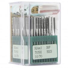 Бытовые швейные иглы Dotec HAx1, BP SES 705H 10/70 100 шт.