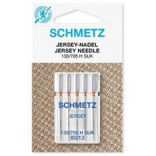 Иглы для трикотажа Schmetz Jersey № 80