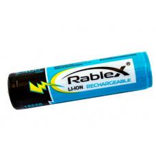 Аккумулятор Rablex 18650 Li-Ion 2400 mAh с защитой