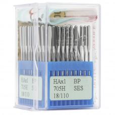 Бытовые швейные иглы Dotec HAx1, BP SES 705H 18/110 100 шт.