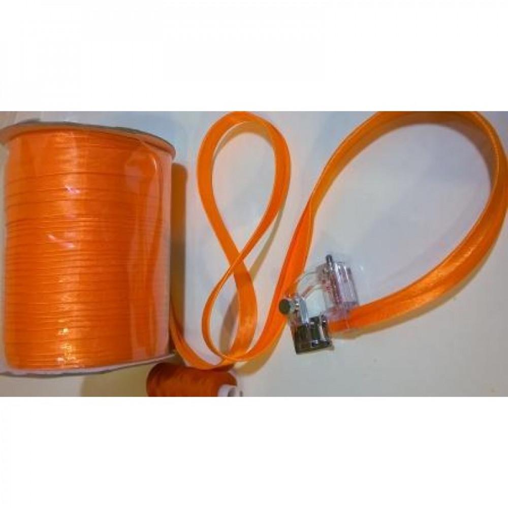 Косая бейка оранжевая № 82