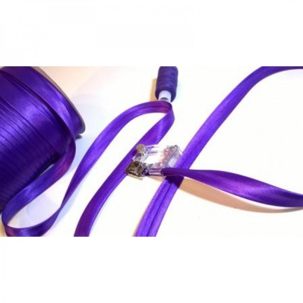 Косая бейка фиолетовая № 114
