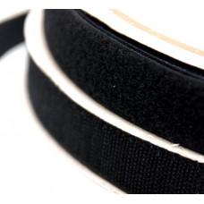 Лента липучка черная 3,8 см
