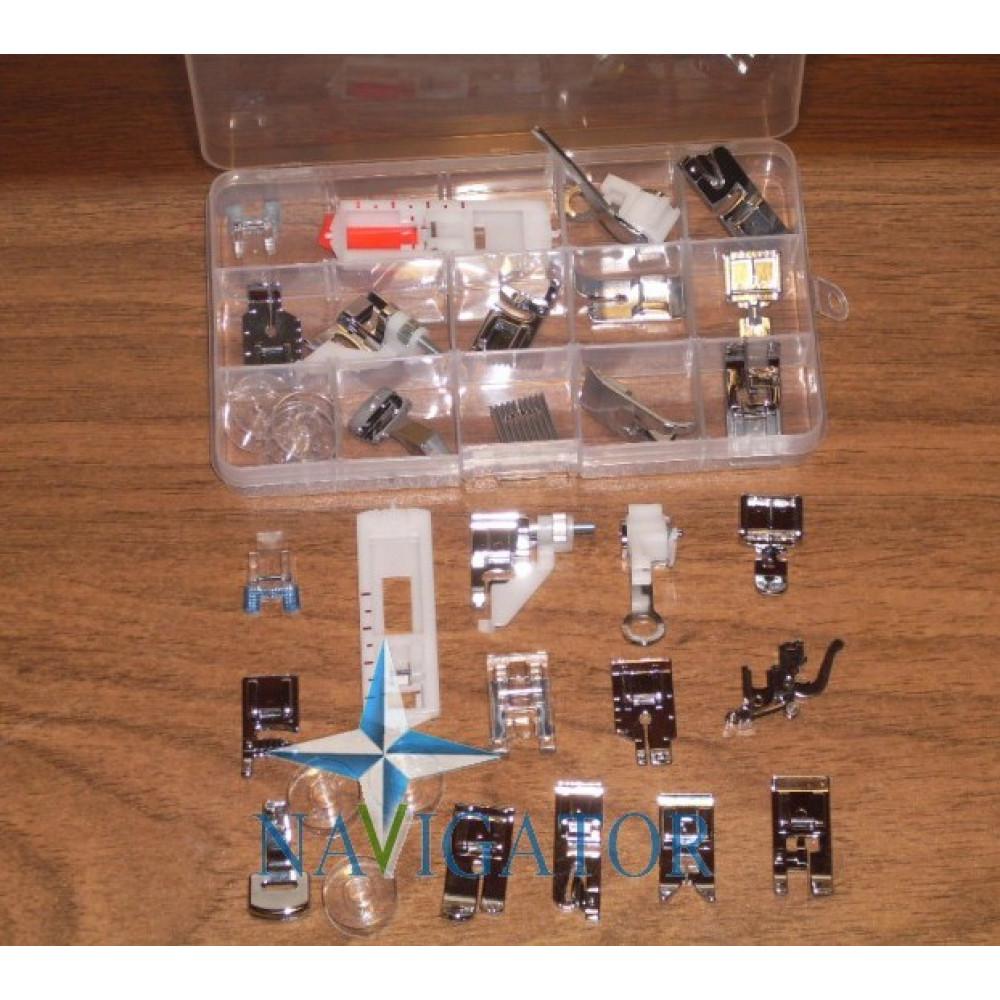 Набор швейных лапок из 18 предметов HM-015