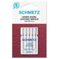 Иглы для кожи Schmetz Leather № 80