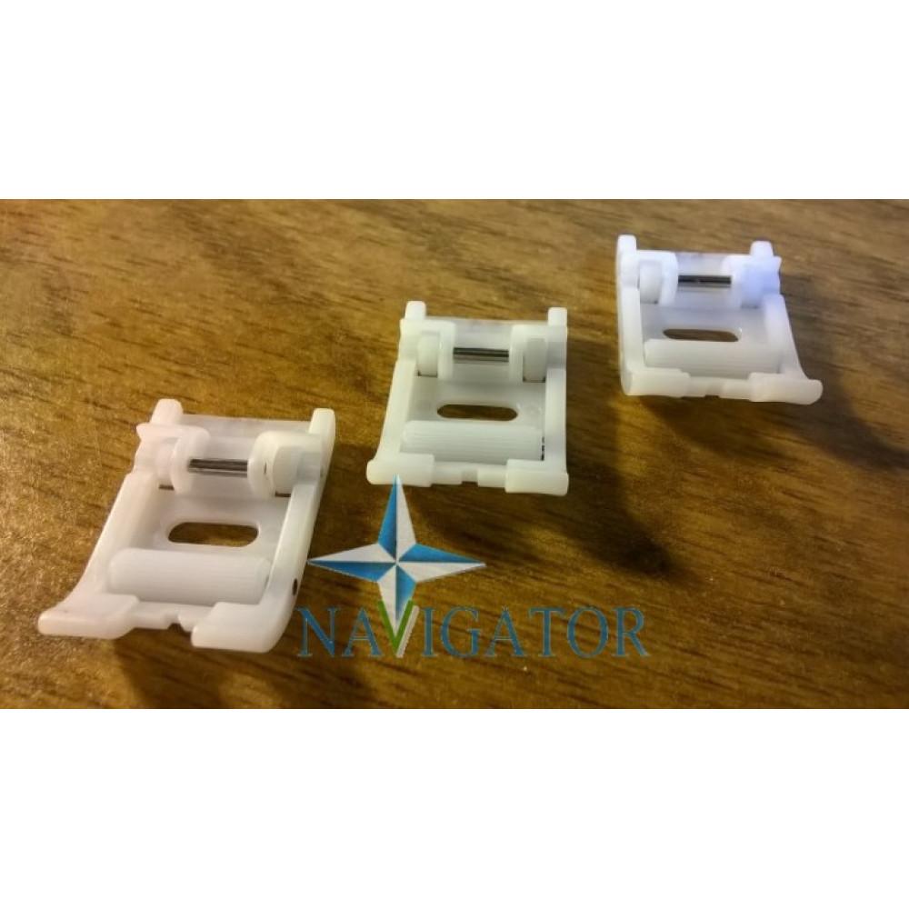 Лапка ролик для тяжелых материалов фторопластовая