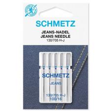 Иглы джинс Schmetz Jeans № 100