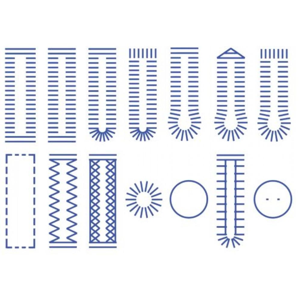 Полупромышленная швейно-вышивальная машина MINERVA С20А Prof