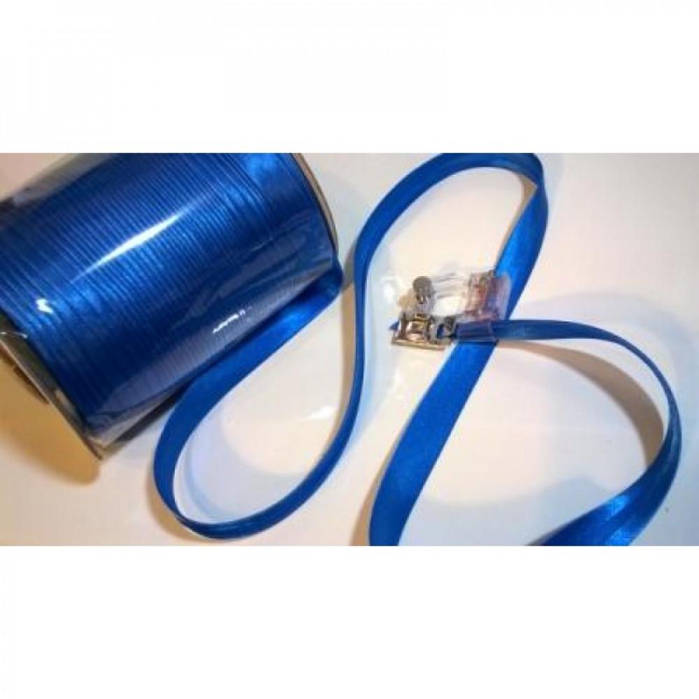 Косая бейка синяя № 176