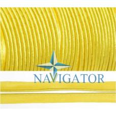 Кант атласный цвет жёлтый, 11 мм