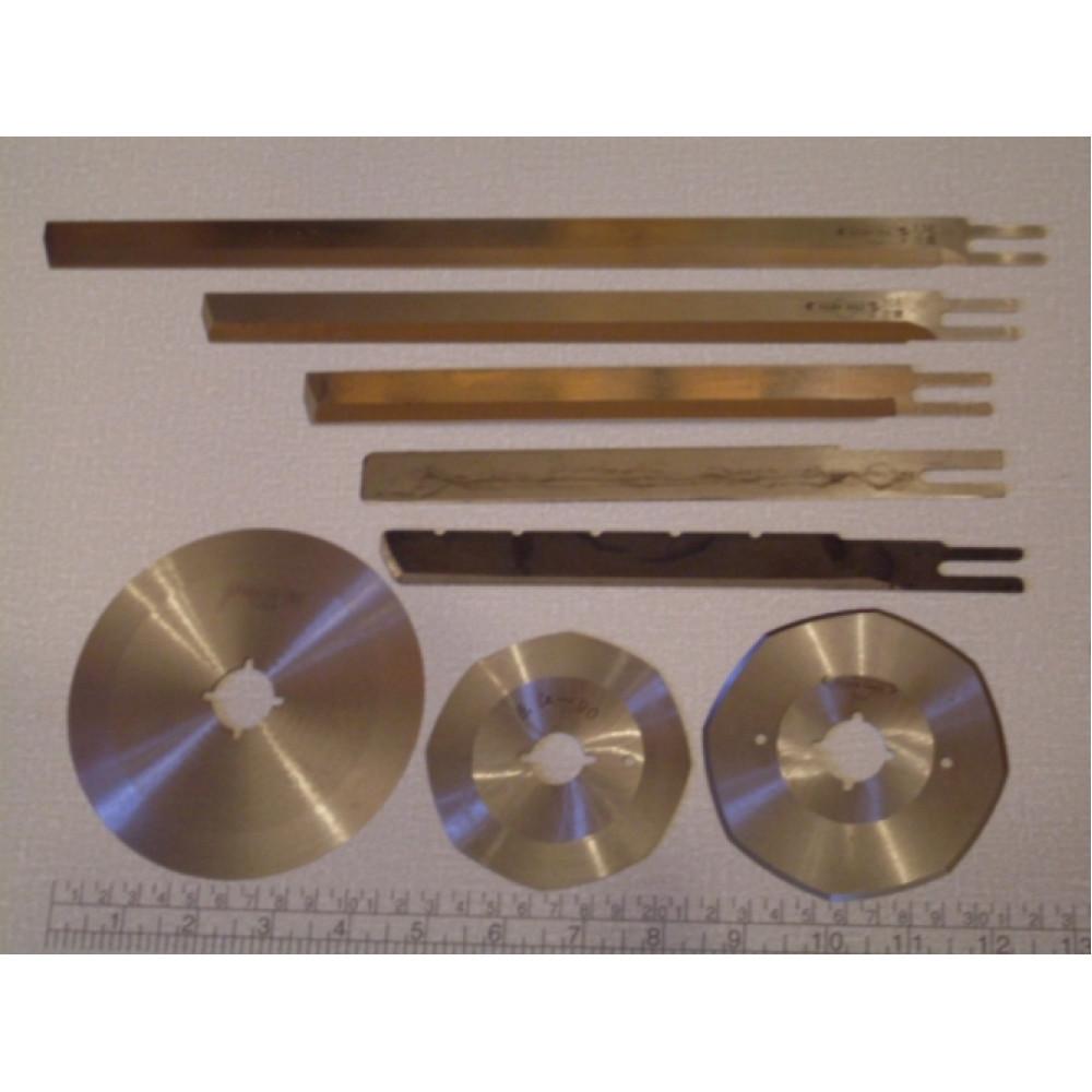Лезвия сабельные и дисковые