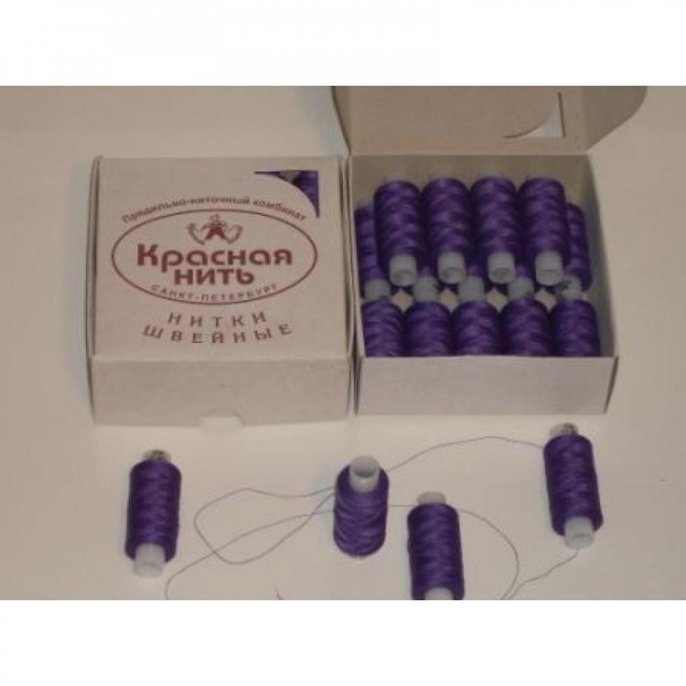 Нить фиолетовая 45 ЛЛ. Армированные полиэстер
