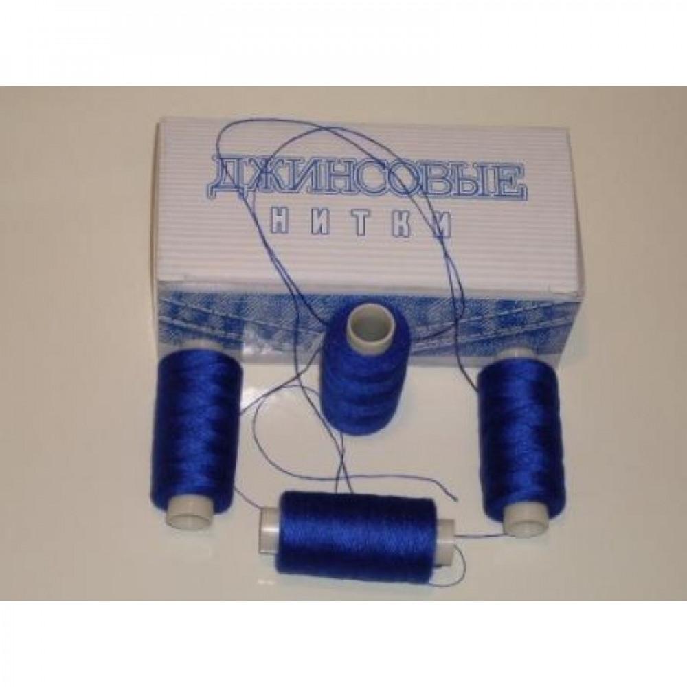 Нить джинсовая цвет фиолетовый, № 549