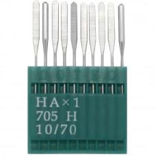 Бытовые швейные иглы Dotec HAx1, 705H 10/70 10 шт.