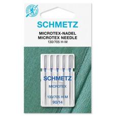 Иглы для микротекстиля Schmetz Microtex № 90