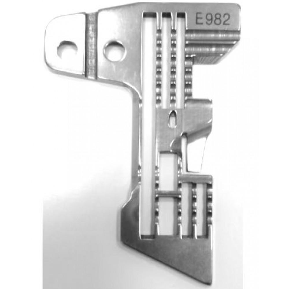 Игольная пластина E982 для SIRUBA