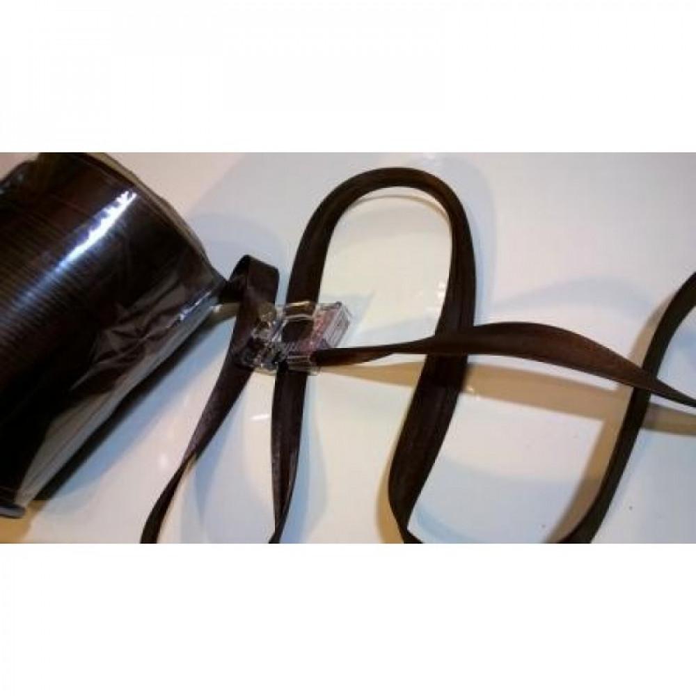 Косая бейка темно-коричневая № 131