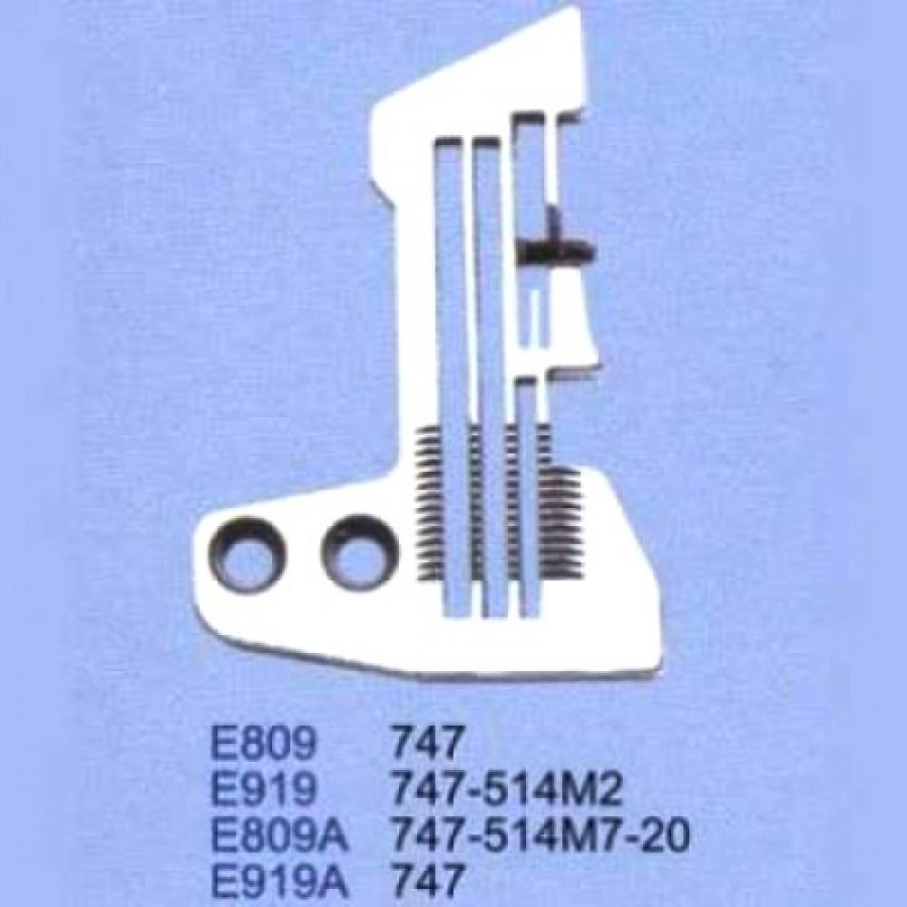 Игольная пластина E919 для SIRUBA