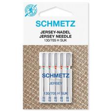 Иглы для трикотажа Schmetz Jersey № 70-90