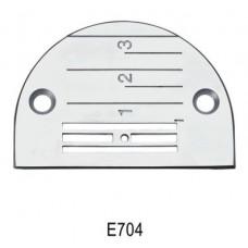 Игольная пластина E704 Siruba