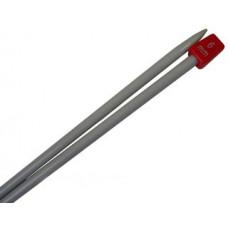 Спицы для вязания прямые металлические 6 мм