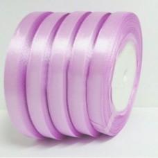 Атласная лента цвет светло-сиреневый, 10 мм