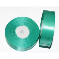 Атласная лента цвет мятно-лазурный, 25 мм