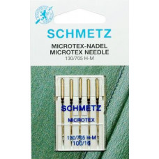 Иглы для микротекстиля Schmetz Microtex 130/705 H-M № 100/16