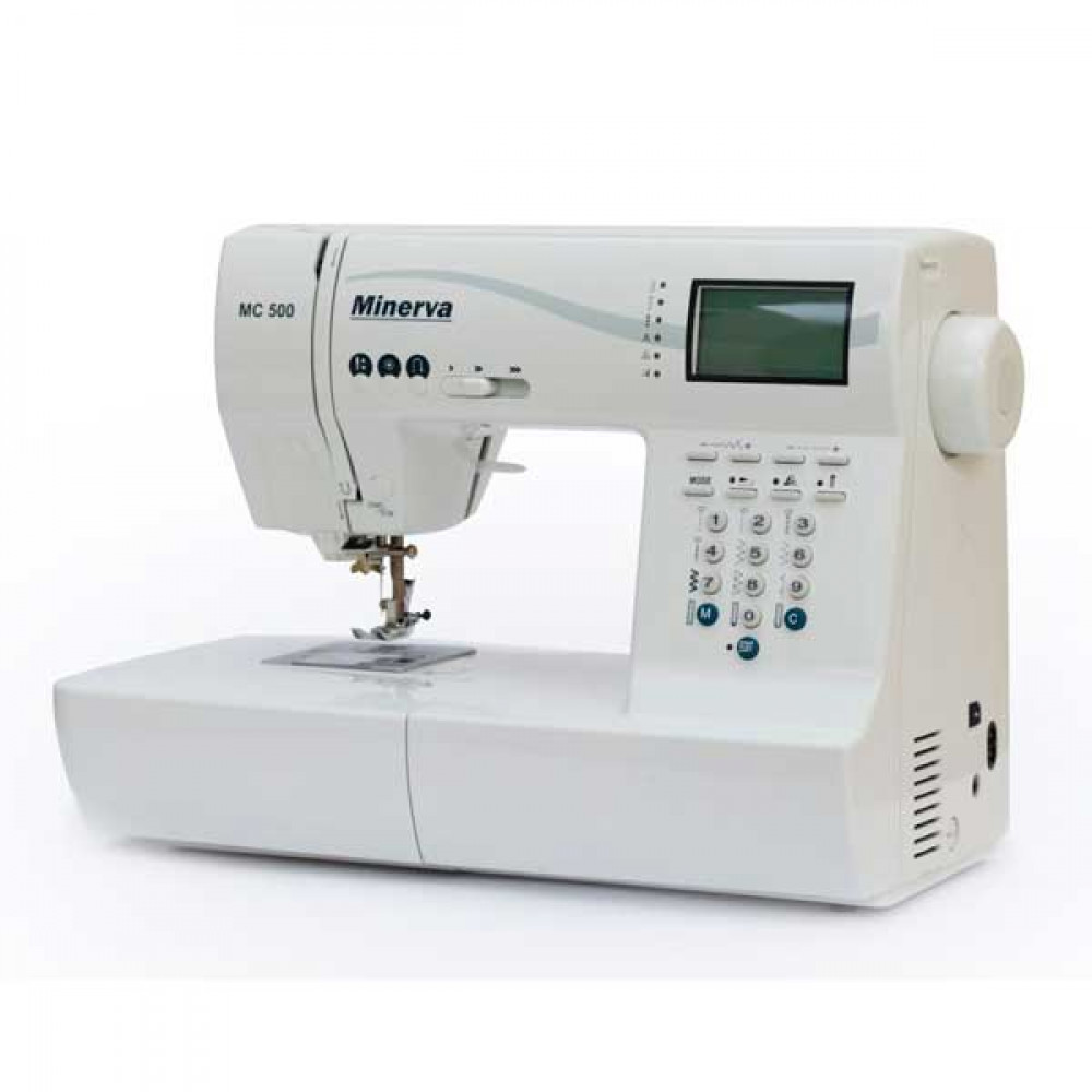 Компьютеризированная швейная машина MINERVA MC500