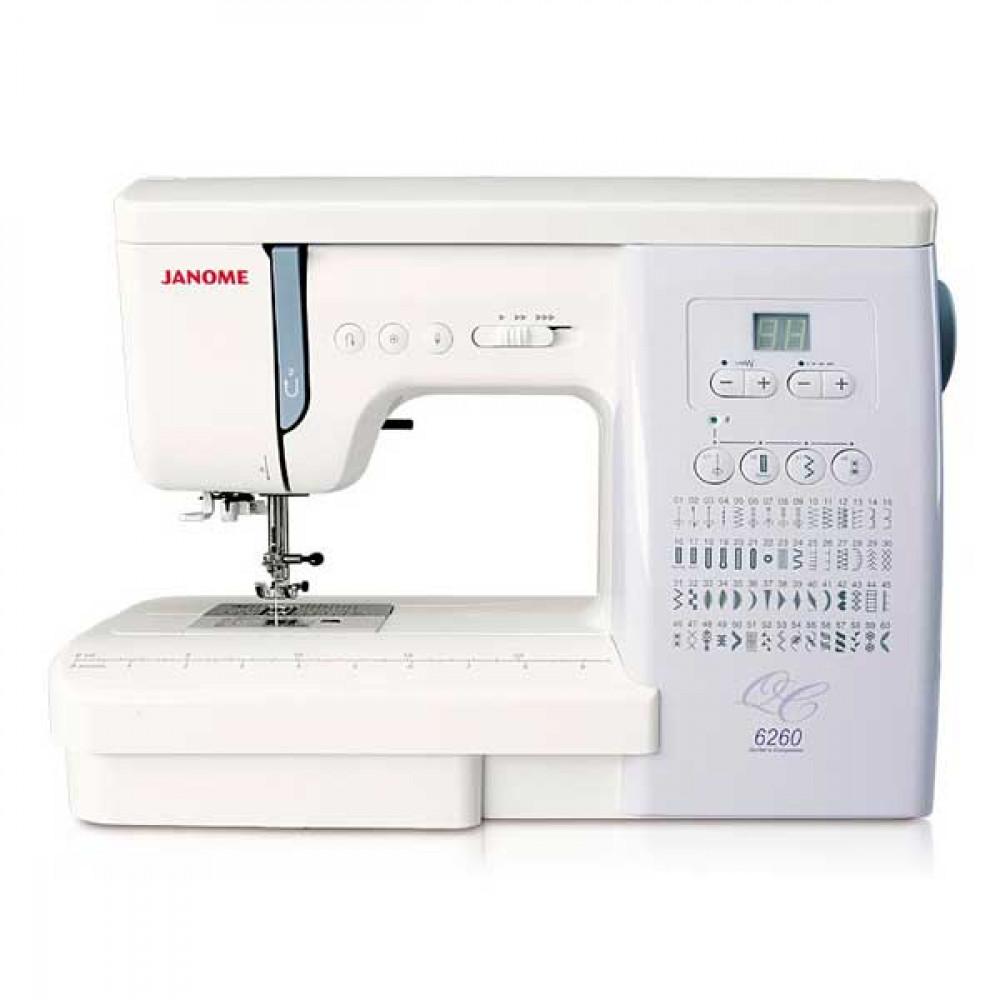 Бытовая швейная машина JANOME 6260