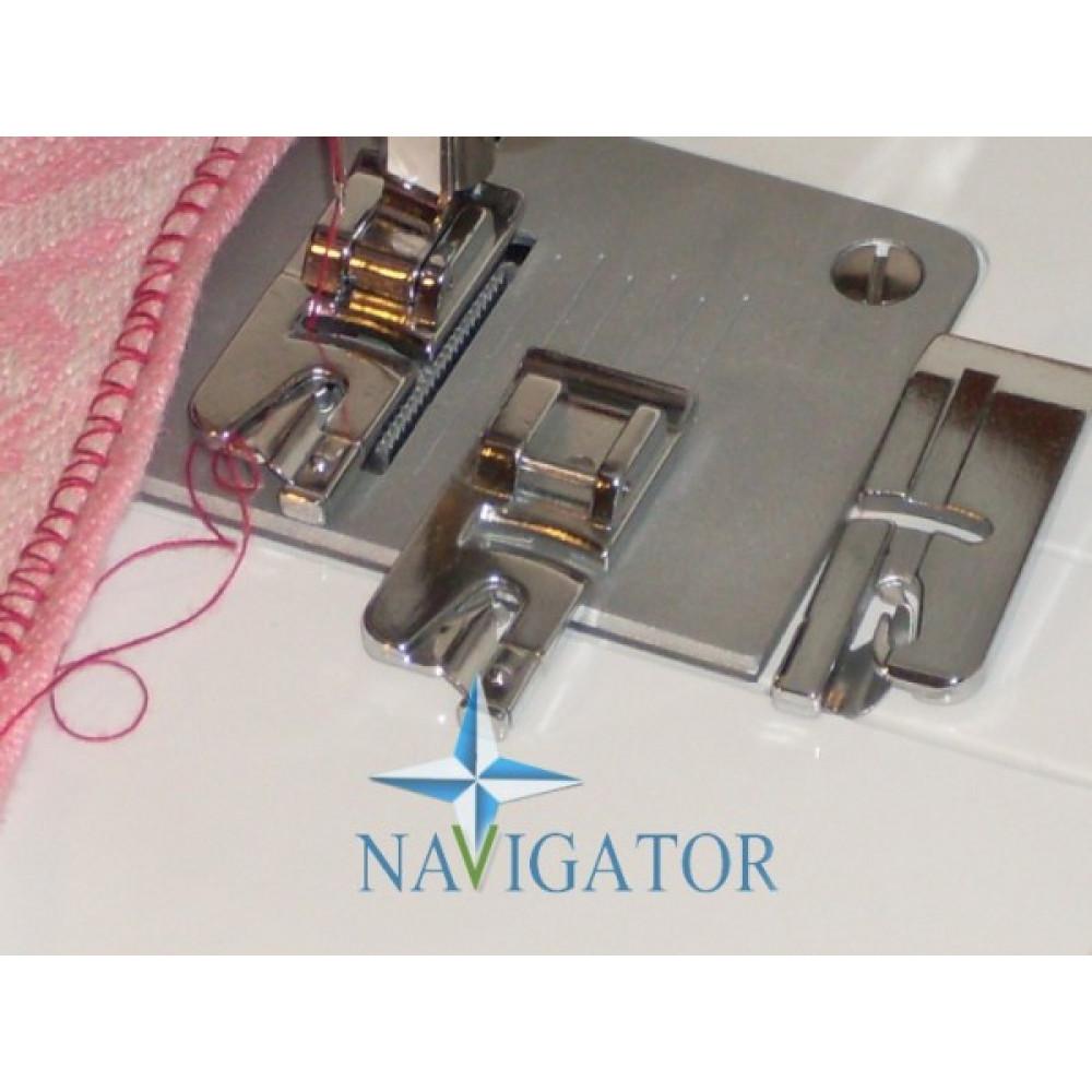 Лапка рубильник для узкой подгибки, широкая