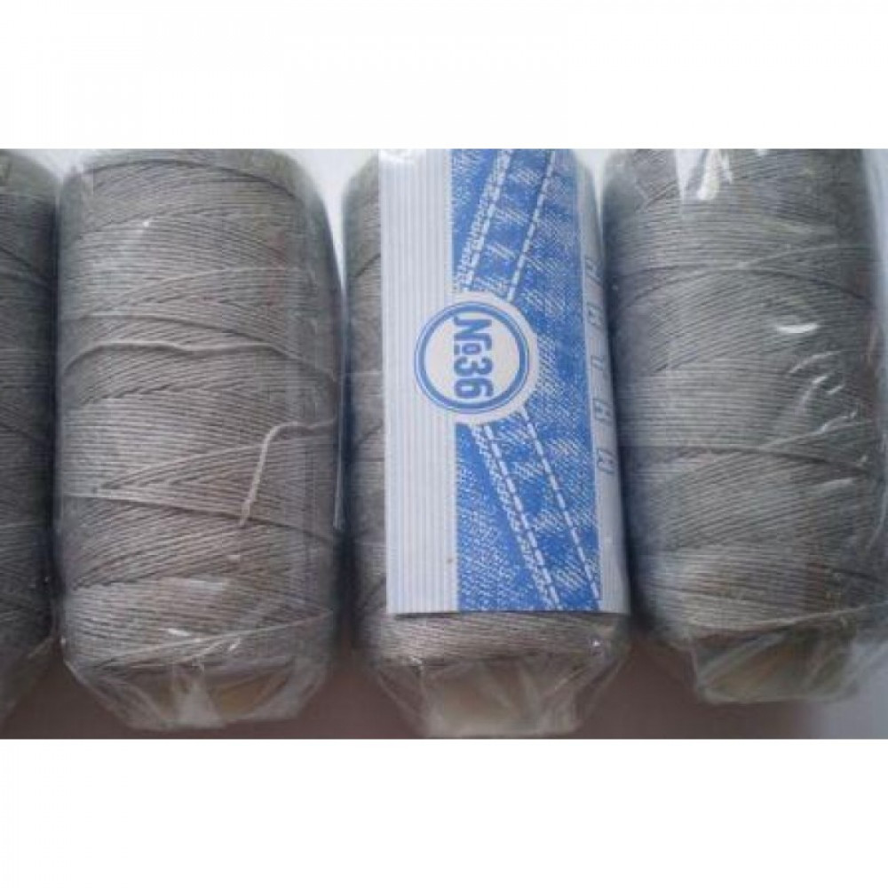 Нить джинсовая цвет светло-серебряный, № 564