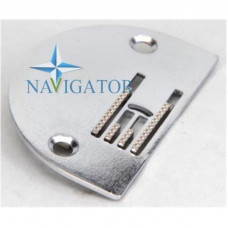 Набор игольная пластина с увеличенным отверстием и двигатель ткани для бытовых швейных машин