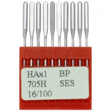 Бытовые швейные иглы Dotec HAx1, BP SES 705H 16/100 10 шт.