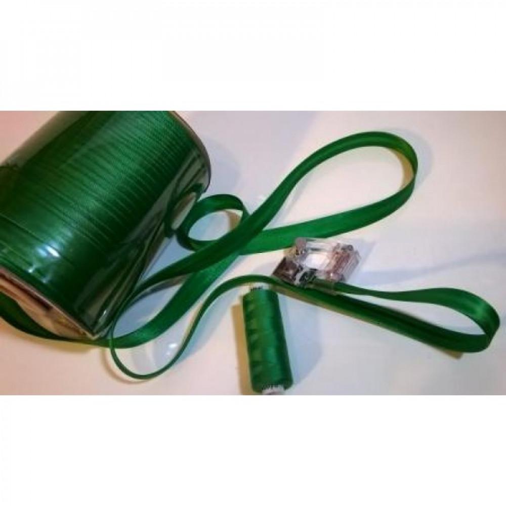 Косая бейка цвет травянисто-зеленый № 51