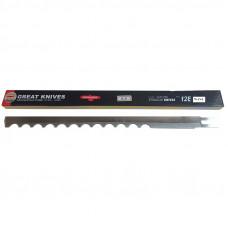 Лезвие 12EW волнистое  для раскройных вертикальных ножей сабельного типа