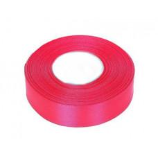 Атласная лента цвет розовый неон 25 мм
