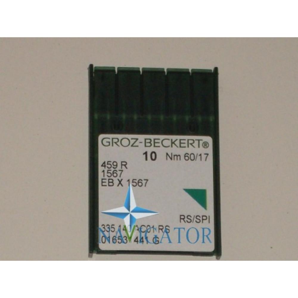 Игла 459R / 1567 / EBx1567 № 60/17, цена за 10 шт.