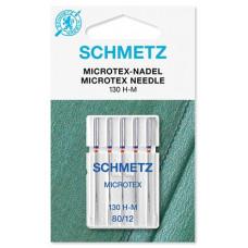 Иглы для микротекстиля Schmetz Microtex № 80