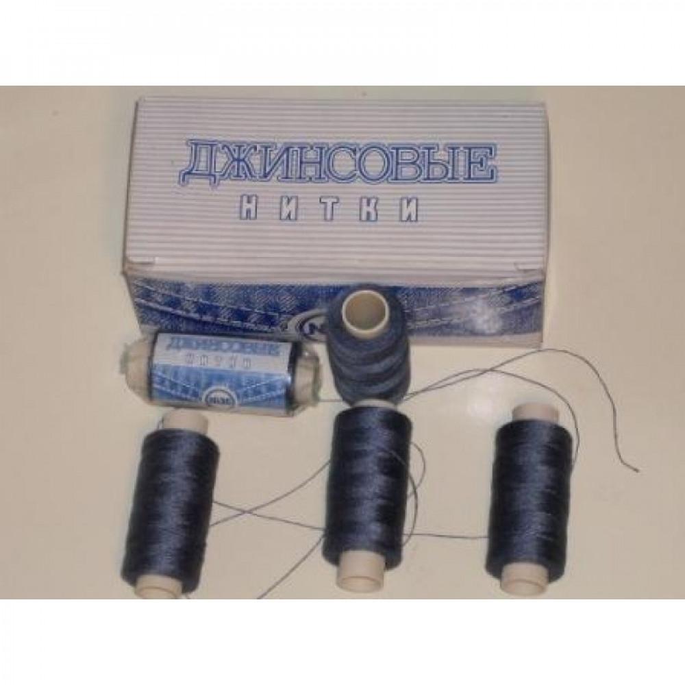 Нить джинсовая цвет сине-фиолетовый Деним, № 333