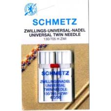 Двойная универсальная игла Schmetz Twin Universal № 90/4,0