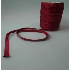 Кант атласный цвет бордовый, № 8136, 10 мм