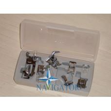 Набор лапок 7 шт. + адаптер RJ-207-1